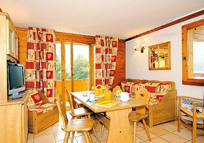 Location 8 personnes Appartement duplex 4 pièces 8 personnes - Le Hameau Et Les Chalets De La Vallee D'or