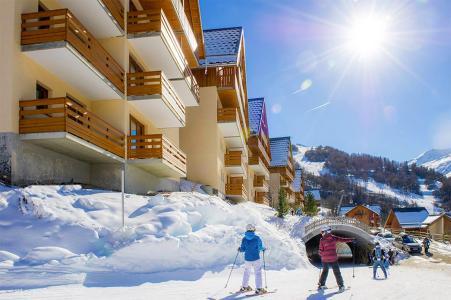 Location Valloire : Les Chalets de Valoria hiver