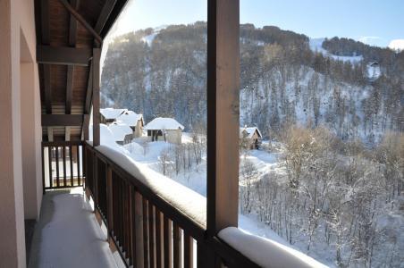 Location au ski Appartement 3 pièces 6 personnes (B111) - Les Fermes De L'archaz - Valloire - Balcon