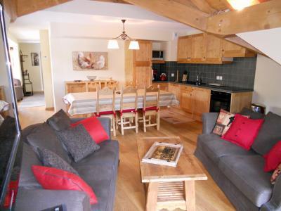 Location au ski Appartement duplex 4 pièces cabine 8 personnes (B201) - Les Fermes De L'archaz - Valloire - Séjour