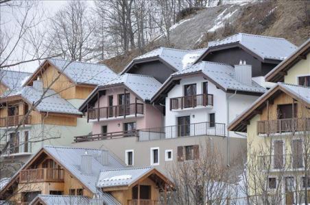 Location au ski Appartement 2 pièces cabine 4 personnes (A221) - Les Fermes De L'archaz - Valloire - Extérieur hiver