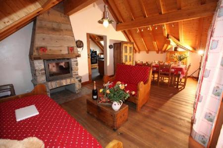 Location au ski Appartement 3 pièces 6 personnes (1E) - Les Fermes Du Planet - Valloire - Séjour
