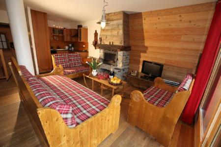 Location au ski Appartement duplex 4 pièces 8 personnes (2) - Les Fermes Du Planet - Valloire - Coin séjour