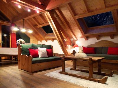 Location au ski Appartement triplex 6 pièces 12 personnes (3) - Les Fermes du Planet - Valloire - Séjour