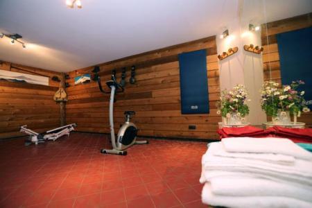 Location au ski Les Fermes Du Planet - Valloire - Espace fitness