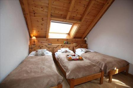 Location au ski Appartement triplex 6 pièces 12 personnes - Maison Le Planet - Valloire - Lit simple