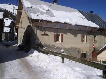 Wakacje w górach Maison les Aulnes - Valloire - Zima na zewnątrz