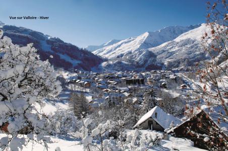 Location au ski Résidence Bételgeuse - Valloire - Extérieur hiver