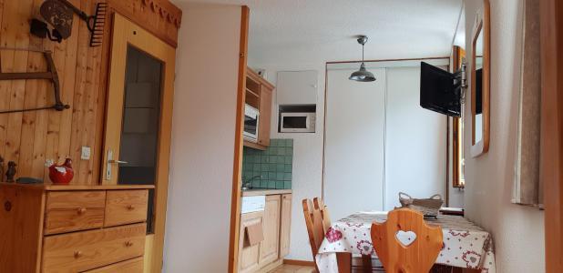Location au ski Studio cabine 5 personnes (18) - Résidence Bon Accueil - Valloire - Entrée