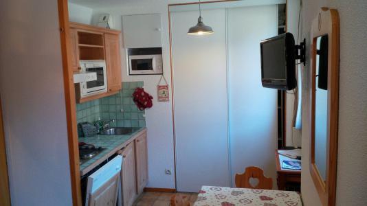 Location au ski Studio cabine 5 personnes (18) - Résidence Bon Accueil - Valloire - Kitchenette