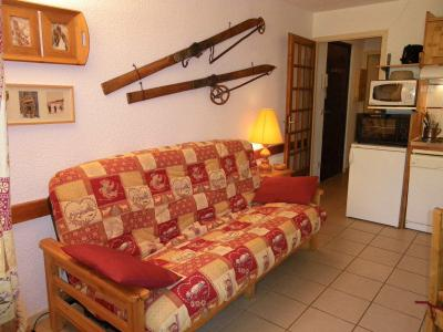 Location au ski Appartement 2 pièces 4 personnes (1E) - Residence Eden Val - Valloire - Canapé
