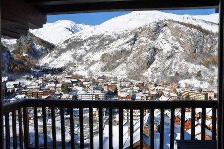Rent in ski resort 2 room apartment 4 people (102) - Résidence Gentiane Hameau de la Vallée d'Or - Valloire - Balcony