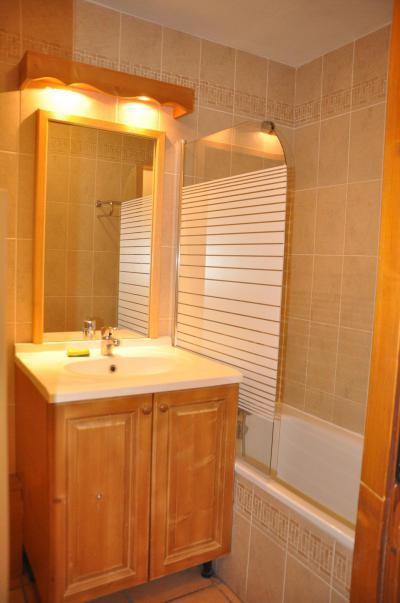 Rent in ski resort 2 room apartment 4 people (102) - Résidence Gentiane Hameau de la Vallée d'Or - Valloire - Bath-tub