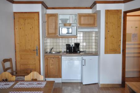 Rent in ski resort 2 room apartment 4 people (102) - Résidence Gentiane Hameau de la Vallée d'Or - Valloire - Kitchenette