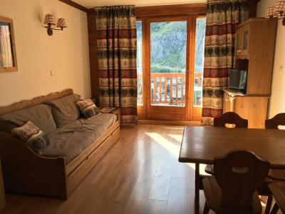 Rent in ski resort 2 room apartment 4 people (203) - Résidence Gentiane Hameau de la Vallée d'Or - Valloire - Living room
