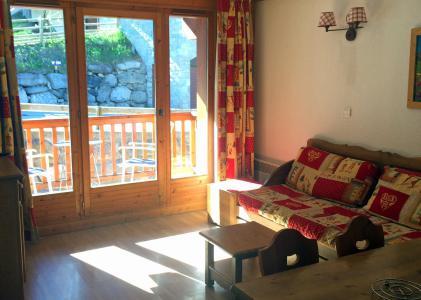 Rent in ski resort 2 room apartment 4 people (305) - Résidence Gentiane Hameau de la Vallée d'Or - Valloire - Bed-settee