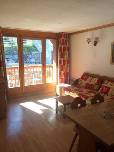 Rent in ski resort 2 room apartment 4 people (305) - Résidence Gentiane Hameau de la Vallée d'Or - Valloire - Living room