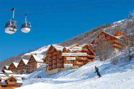Rent in ski resort Résidence Gentiane Hameau de la Vallée d'Or - Valloire