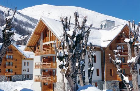 Location au ski Résidence Lagrange les Chalets du Galibier - Valloire - Extérieur hiver
