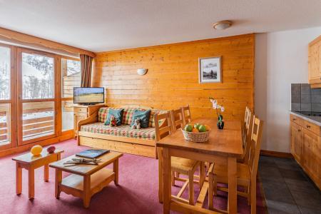 Аренда на лыжном курорте Résidence Lagrange les Chalets du Galibier - Valloire - Столова&