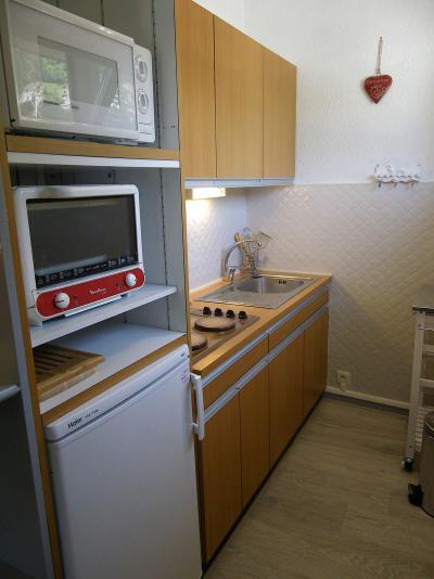 Аренда на лыжном курорте Квартира студия со спальней для 4 чел. (34) - Résidence le Crey du Quart - Valloire