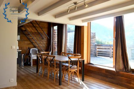 Rent in ski resort 4 room apartment 7 people (superior) - Résidence le Hameau de Valloire - Valloire - Living room