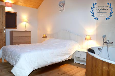 Rent in ski resort 5 room apartment 8 people (superior) - Résidence le Hameau de Valloire - Valloire - Bedroom