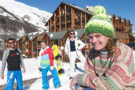 Location au ski Residence Le Hameau De Valloire - Valloire - Extérieur hiver