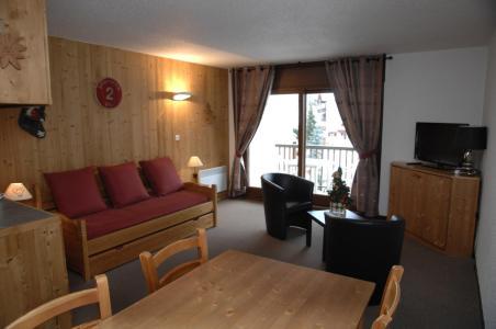 Location au ski Studio cabine 4 personnes (PRAZ20) - Résidence le Praz - Valloire