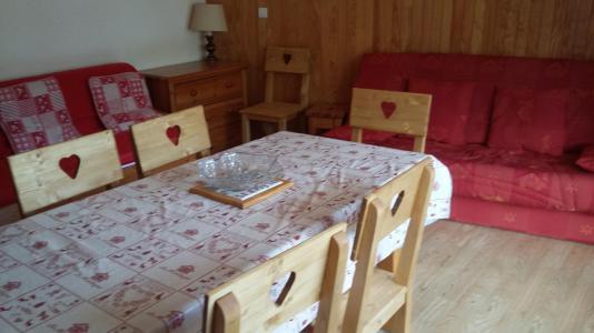 Location au ski Appartement 2 pièces 6 personnes (2K) - Résidence le Rocher Saint Pierre - Valloire - Table