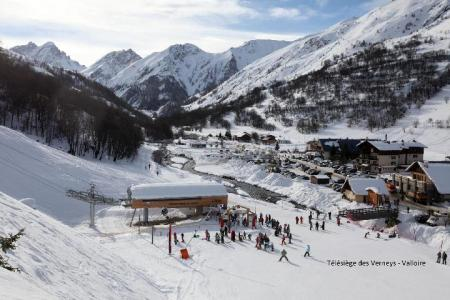 Location Valloire : Residence Le Thymel hiver