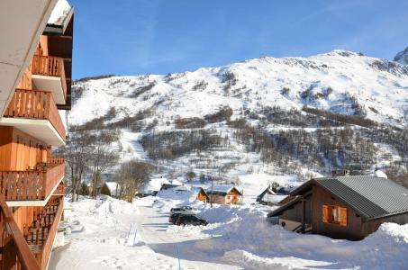 Location au ski Studio coin montagne 4 personnes (77) - Residence Les Arolles - Valloire
