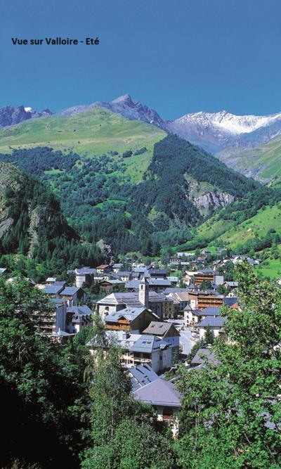 Location au ski Residence Les Cassettes - Valloire - Extérieur hiver