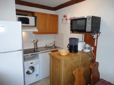 Location au ski Appartement 2 pièces 4 personnes (C42) - Residence Les Valmonts - Valloire - Kitchenette