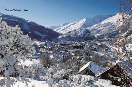 Location au ski Residence Rapin - Valloire - Extérieur hiver