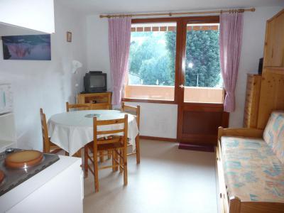 Аренда на лыжном курорте Квартира студия со спальней для 3 чел. (11) - Résidence Rochechateau - Valloire