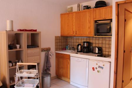 Аренда на лыжном курорте Апартаменты 2 комнат 4 чел. (24) - Résidence Tigny - Valloire - Небольш&
