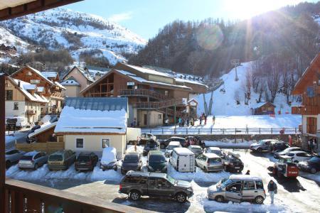 Location au ski Appartement 2 pièces cabine 4 personnes (26) - Résidence Tigny - Valloire - Extérieur hiver