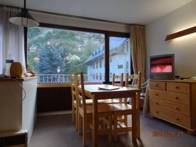 Аренда на лыжном курорте Квартира студия со спальней для 4 чел. (1) - Résidence Val d'Auréa - Valloire - апартаменты