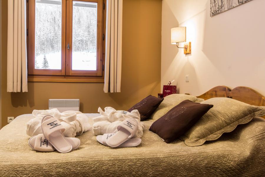 Location au ski Résidence et Spa Vallorcine Mont Blanc - Vallorcine - Chambre