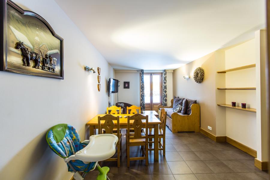Location au ski Résidence et Spa Vallorcine Mont Blanc - Vallorcine - Coin repas
