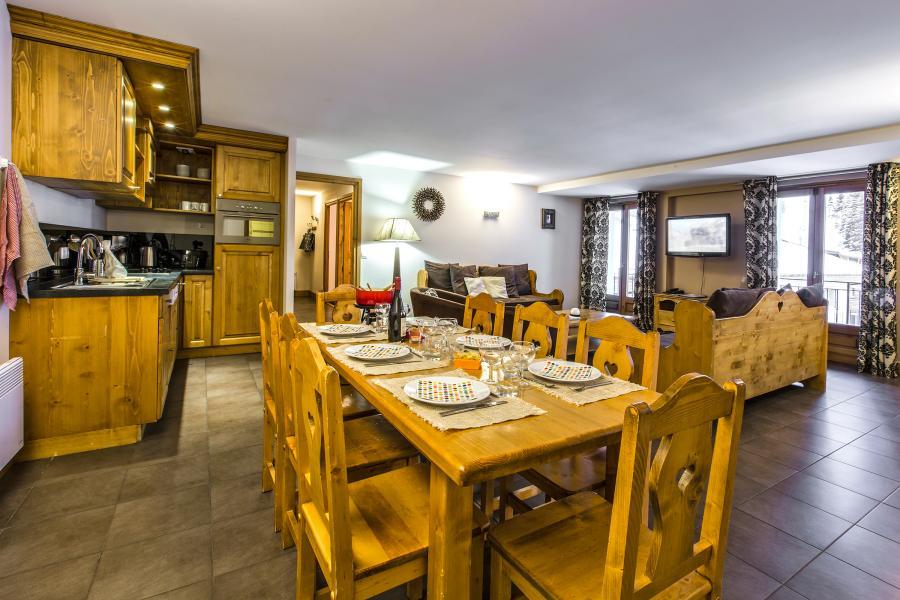 Location au ski Résidence et Spa Vallorcine Mont Blanc - Vallorcine - Salle à manger