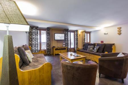 Location au ski Residence Et Spa Vallorcine Mont Blanc - Vallorcine - Canapé