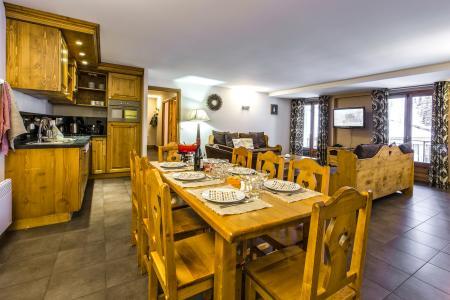 Alquiler al esquí Résidence et Spa Vallorcine Mont Blanc - Vallorcine - Comedor