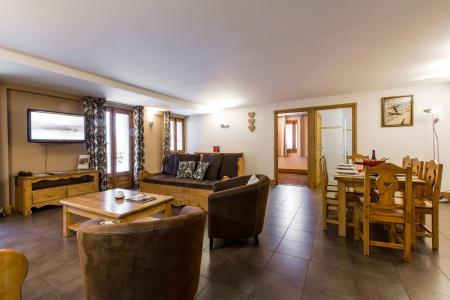Rent in ski resort Résidence et Spa Vallorcine Mont Blanc - Vallorcine - Dining area