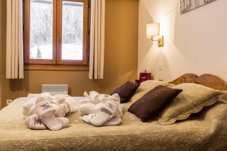 Alquiler al esquí Résidence et Spa Vallorcine Mont Blanc - Vallorcine - Habitación