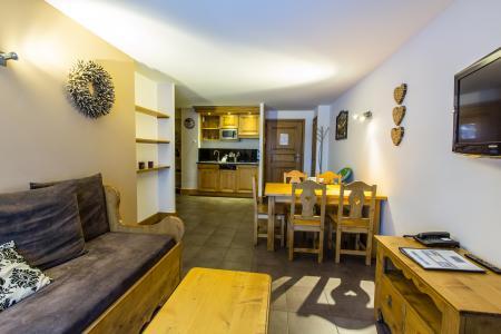 Rent in ski resort Résidence et Spa Vallorcine Mont Blanc - Vallorcine - Living room