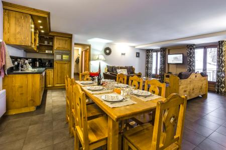 Location au ski Residence Et Spa Vallorcine Mont Blanc - Vallorcine - Salle à manger