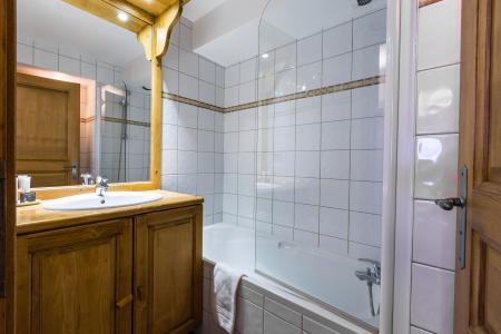 Location au ski Residence Et Spa Vallorcine Mont Blanc - Vallorcine - Salle de bains