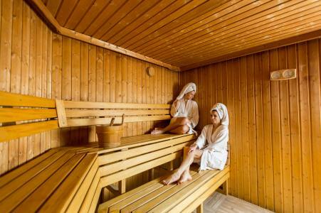 Location au ski Residence Et Spa Vallorcine Mont Blanc - Vallorcine - Sauna
